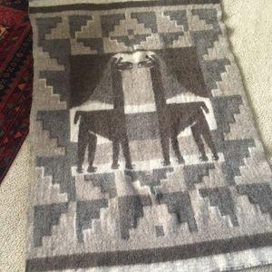 Peruvian Alpaca 🦙 Blanket